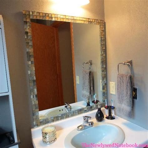 Bathroom Mirrors For Less 25 Best Ideas About Tile Mirror On Tile
