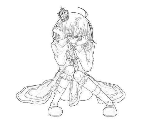 coloring pages of girl crying free coloring pages of anime princess