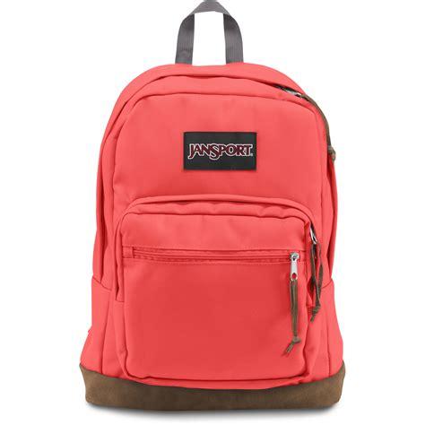 jansport right pack 31l backpack tahitian orange js00typ70d5