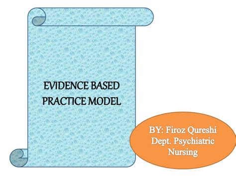 evidence of practice playbook for powered professional learning books evidence based practice model