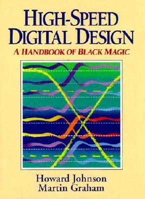 design typography etc a handbook books high speed digital design a handbook of black magic book