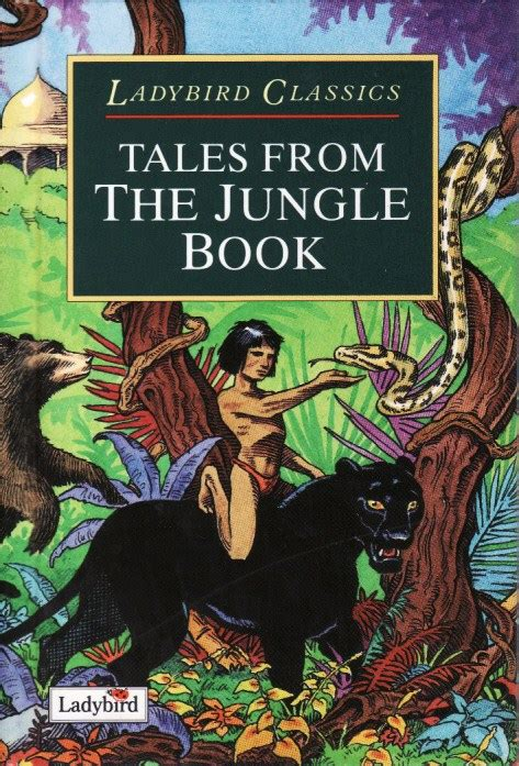 ladybird classics the jungle tales from the jungle book ladybird book classics series 9420 gloss hardback green