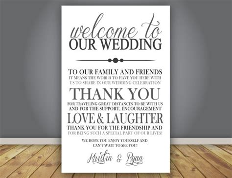 Thank You Letter Wedding Add On Thank You Note Wedding Program Add On Guest Thank