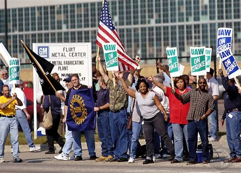 general motors strike gm workers overwhelmingly authorize strikes as bargaining