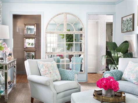 decorating ideas for small living rooms on a budget small living room mirror make look bigger big design tips