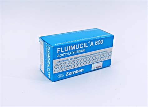 Fluimucil 600 Mg fluimucil acetylcystein respiratory disorders