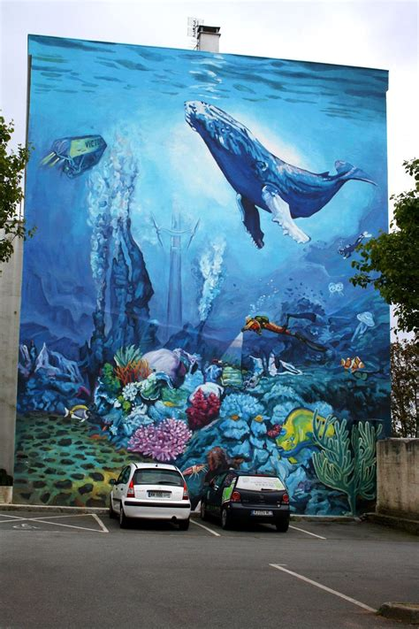 street art la mer brest france murals street art
