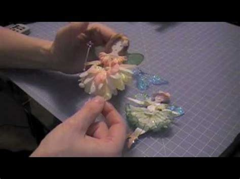 How To Make Paper Fairies - paper doll flower tutorial promo