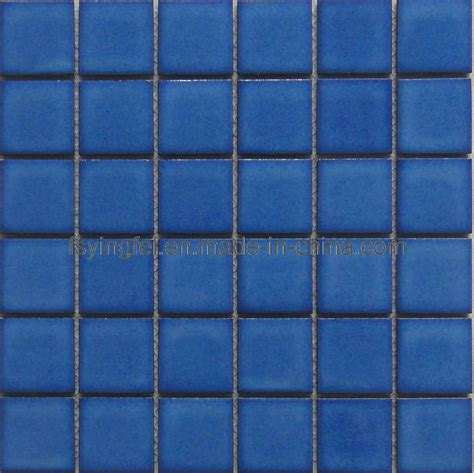 blue tiles china blue swimming pool mosaic tile y48w02 china