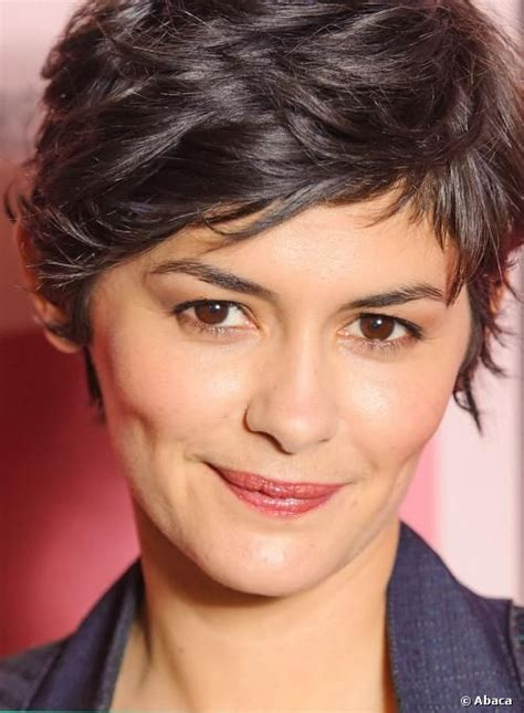 french actress with short hair will quot amelie quot star audrey tautou start a french short