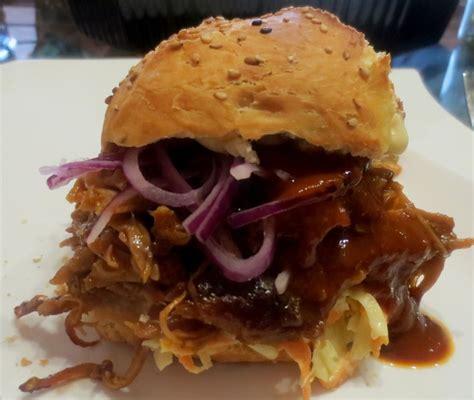 Backyard Burger Pulled Pork Pulled Pork Burger Rezept Mit Bild Slow And Low