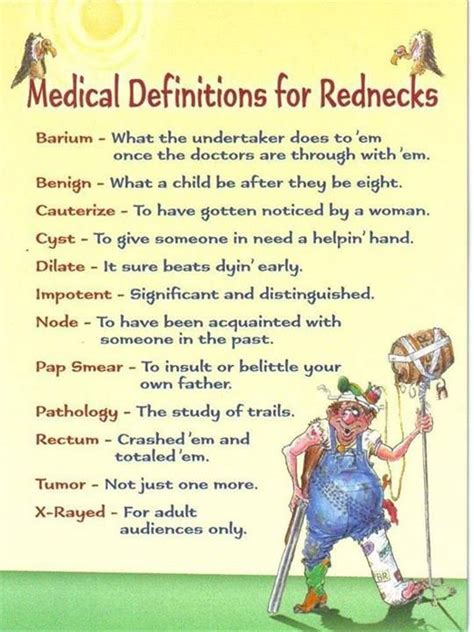 printable redneck jokes 19 best images about redneck dictionary redneck word of
