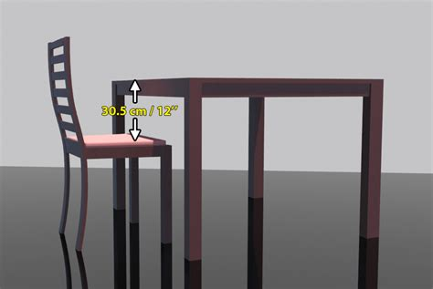 Standard Height Of Dining Table And Chairs Dining Chair Dimensions