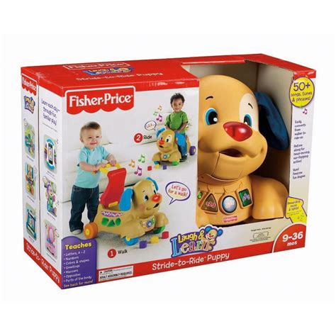 fisher price stride to ride puppy fisher price laugh learn stride to ride on puppy gamesplus