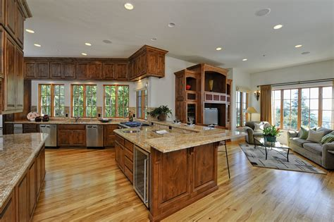 kitchen and great room floor plans kitchen design great floor plans ideas contemporary large