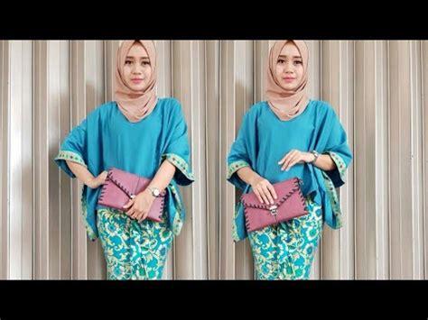 Bawahan Batik 7 8 Murah B30917002mot1 Rok Batik Span Wiru Modis Ootd model batik wanita terbaru modern blus atasan bawahan