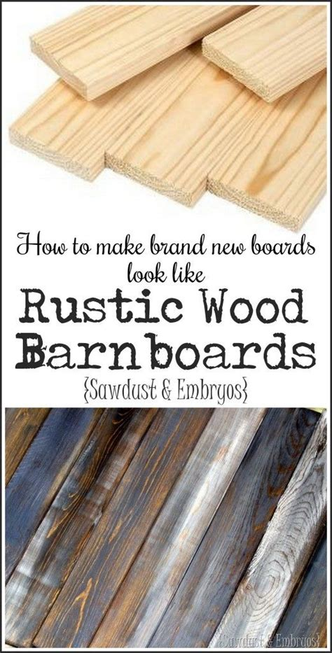 how to decorate a brand new home how to make brand new wood look like aged rustic