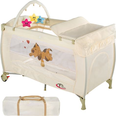 travel beds for babies new portable child baby travel cot bed playpen with