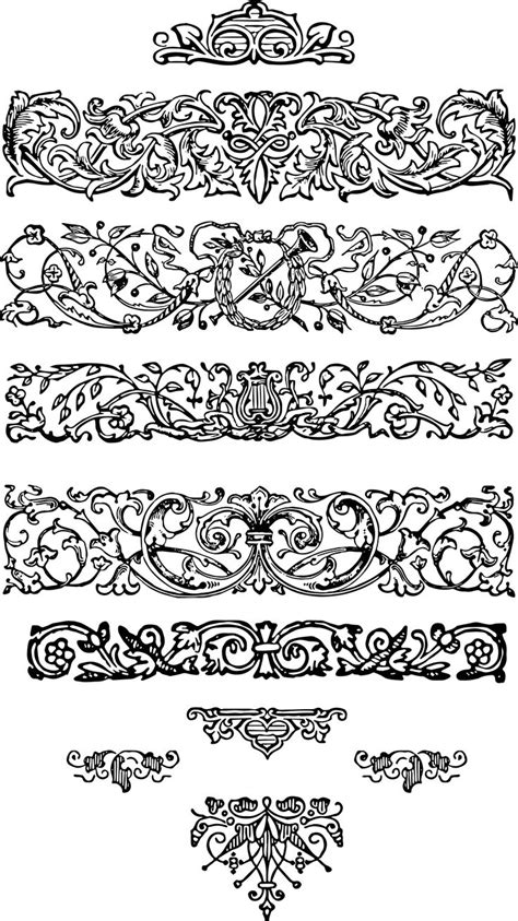 pattern ornament font 344 best images about ornaments on pinterest fonts rose