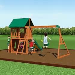 backyard discovery somerset wood swing set