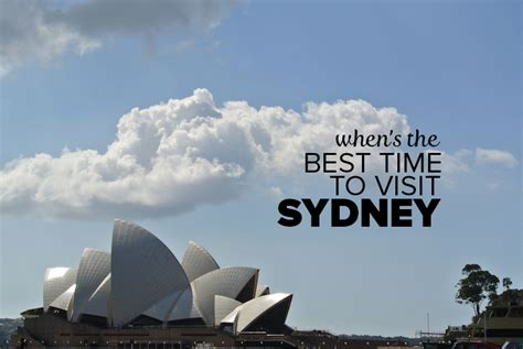 When Is The Best Time To See The Northern Lights by When S The Best Time To Visit Sydney