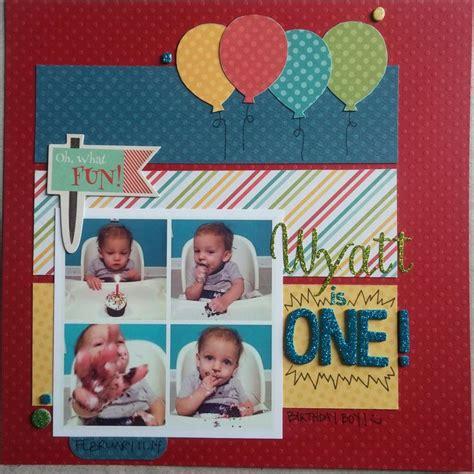 double page scrapbook layout birthday stock photos 171 best scrapbook ideas birthday images on pinterest