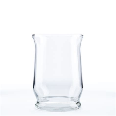 hurricane glass vase hurricane vases rental encore events rentals