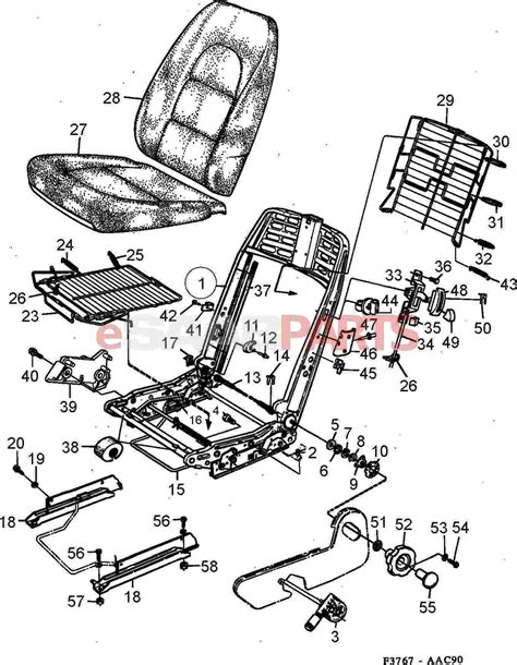 car seat diagram fantastic parts of a car with pictures gallery