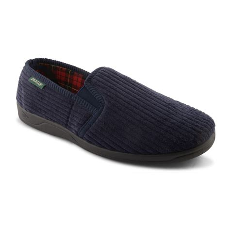 Comfortable Slippers by New Mens Dunlop Comfortable Soft Slip On Slippers Indoor Shoes Sizes Uk 6 12 Ebay