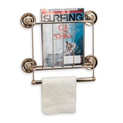 bathroom wall magazine holder buy bathroom wall magazine rack from bed bath beyond