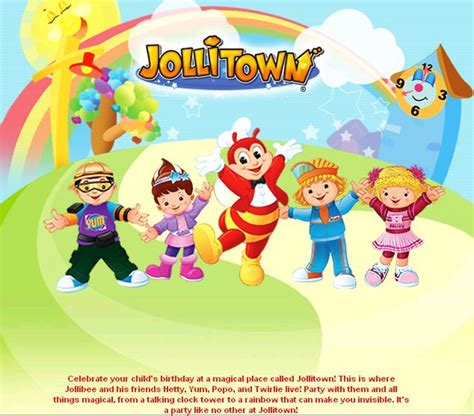 jollibee wallpaper background the pinoy informer jollibee party package themes
