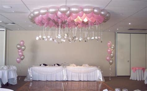 How To Decorate For A Quinceanera by Balloon Chandelier