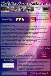 syarat membuat footnote fanfiction lovers contest 2013 archivelomba