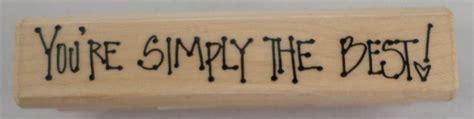 you re simply the best you re simply the best allen d1185 watkins wooden