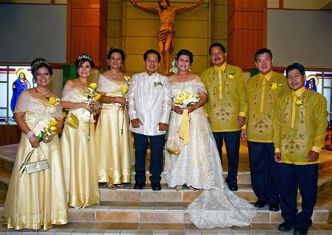 Wedding Attire Philippines by Traditional Dresses Models Photos Philippine Traditional