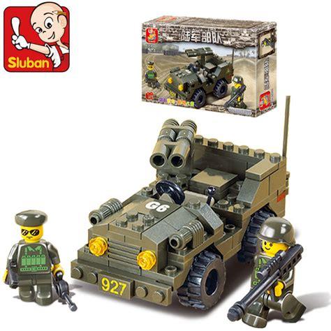 Aliexpress Buy Sluban Building Blocks - aliexpress buy sluban b5800 army road vehicles