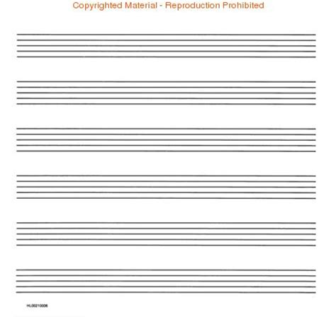 How To Make Manuscript Paper - buy sheet musical courses stationery blank sheet