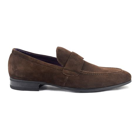 brown suede loafer shop brown suede loafer for gucinari
