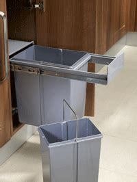 Kitchen Waste Solutions by Kitchen Storage Bins And Other Useful Space Saving