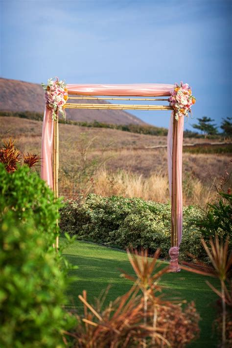 Bamboo Wedding Arch Kit by Vintage Wedding Wedding Bamboo Arch Blue