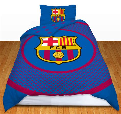barcelona fc bedroom set barcelona football club fc barca single duvet quilt cover