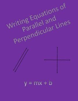 Writing Equations Of Parallel And Perpendicular Lines Worksheet by Geometry Worksheet Writing Equations Of Parallel And