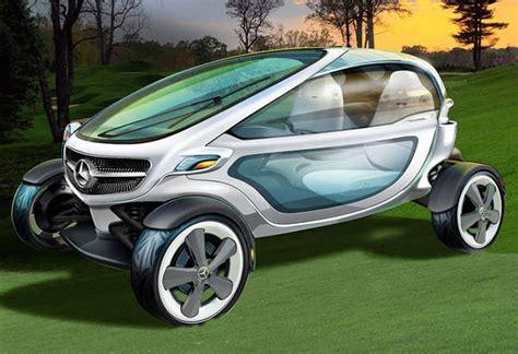 sleek futuristic golf carts mercedes benz golf carts