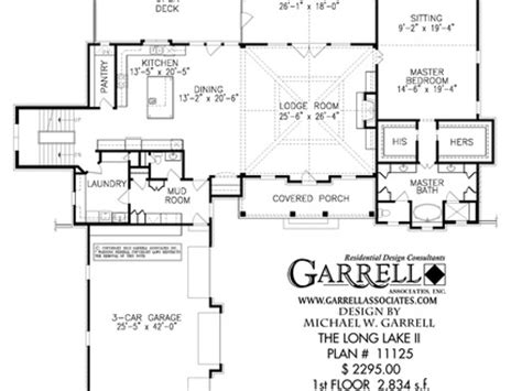 lake view floor plans two story house plans with rear view house plans with view