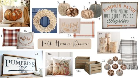 fall house decor fall home decor house of hargrove