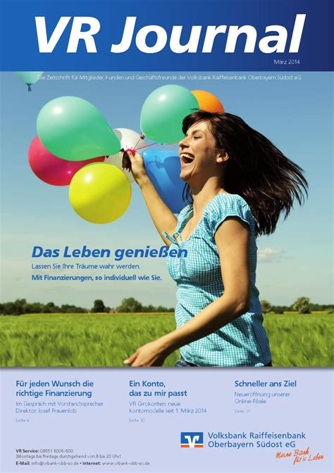 vr bank obb so eg vr journal 1 2014 by volksbank raiffeisenbank oberbayern