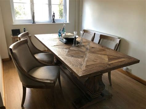 large dining room table   chairs  worcester