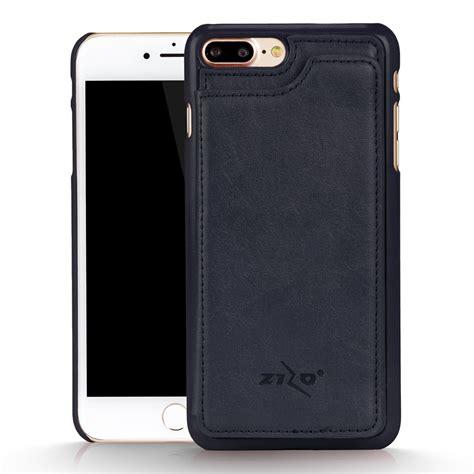 for iphone 7 plus premium cover wallet folio blue ebay