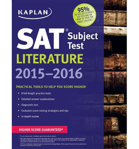 sat literature subject test 2018 study guide test prep book practice test questions for the college board sat literature subject test books kaplan sat subject test literature tony armstrong ph d