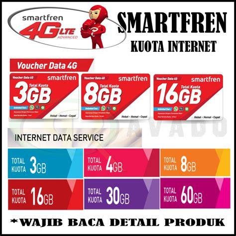 Smartfren 3 Gb murah paket kuota vocer smartfren 4g unlimited
